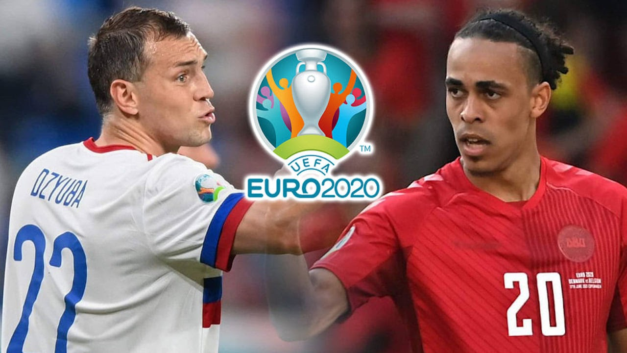 ข่าวฟุตบอล วิเคราะห์บอลยูโร 2020-2021 รัสเซีย vs เดนมาร์ก