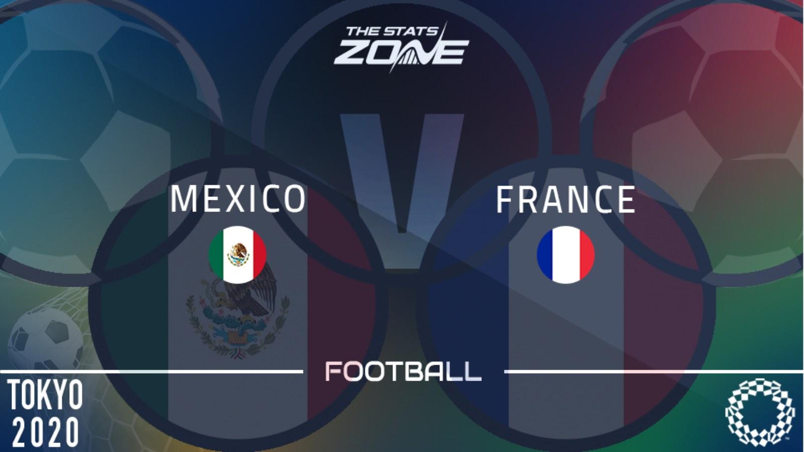 วิเคราะห์บอล โอลิมปิก 2020 - รอบแบ่งกลุ่ม กลุ่ม A เม็กซิโก U23 -vs- ฝรั่งเศส U23 เวลา 15.00