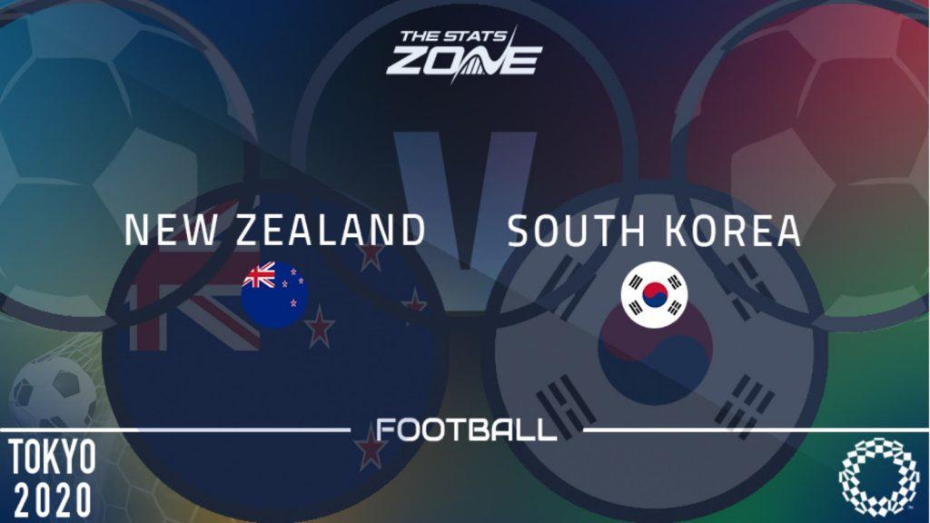 วิเคราะห์บอล โอลิมปิก 2020 - รอบแบ่งกลุ่ม กลุ่ม B - นิวซีแลนด์ U23 -vs- เกาหลีใต้ U23 เวลา 15:00 น.