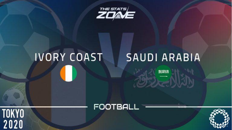 วิเคราะห์บอล โอลิมปิก 2020 - รอบแบ่งกลุ่ม กลุ่ม D ไอวอรี่ โคสต์ U23 vs ซาอุดิอาระเบีย U23 เวลา 15 00 น.